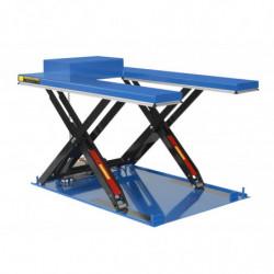 Table élévatrice hydrau-électrique plateau en U avec groupe hydraulique sur plateforme