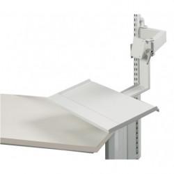 Support écran et clavier hauteur fixe pivotable sur 180°