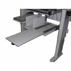 Support imprimante avec sortie papier frontale