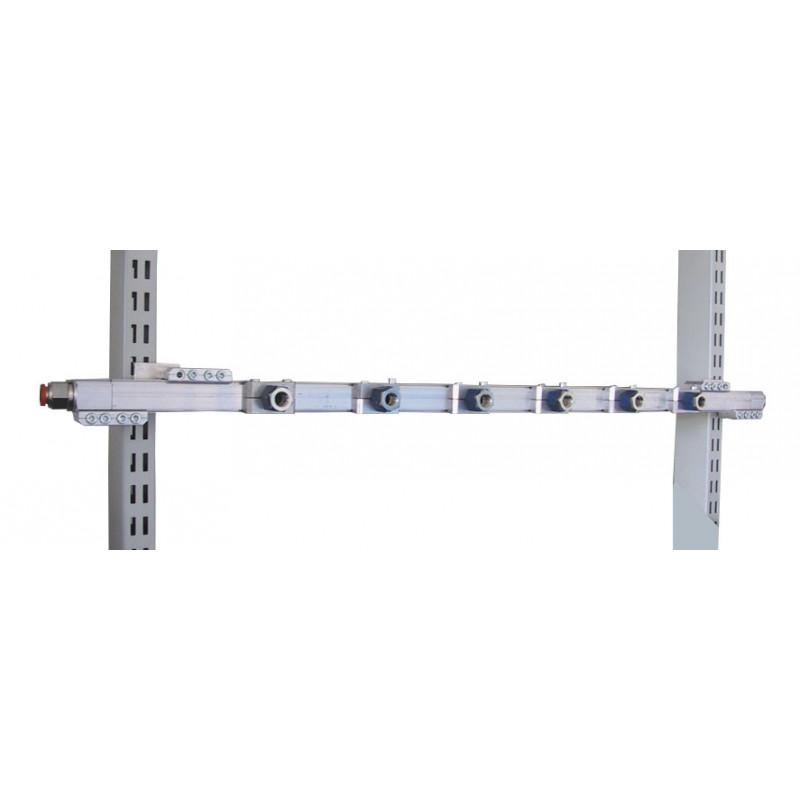 Rampe pneumatique en aluminium