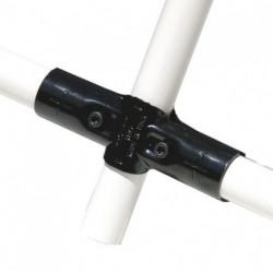 Jonction 3 tubes perpendiculaires en croix (C)