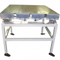 Table finition galvanisée