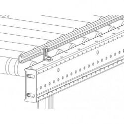 Guide fixe en aluminium