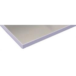 Plateau haute résistance épaisseur 28 mm revêtement PVC