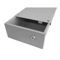 Bloc suspendu 1 tiroir - Dimensions utiles : L 218 x P 335 x H 98 mm