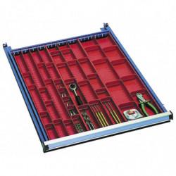 Compartiments à outils pour tiroir H 50 mm
