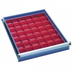Bacs amovibles pour tiroir H 100 mm