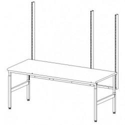 Structure double cadre L 1800 x P 750 mm
