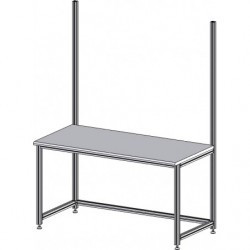 Structure simple cadre L 1800 x P 750 mm