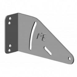 Equerre pour profilé aluminium montage avant