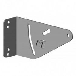 Equerre pour profilé aluminium montage arrière