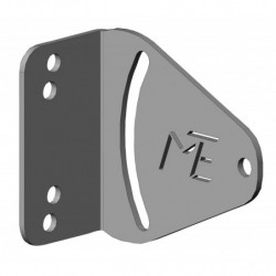 Petite équerre pour profilé aluminium montage avant/arrière