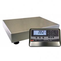 Balance électronique L 600 x P 600 mm, charge jusqu'à 150 kg