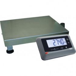Balance électronique L 600 x P 450 mm, charge jusqu'à 150 kg