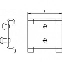 Schéma Crochet à personnaliser pour panneau perforé