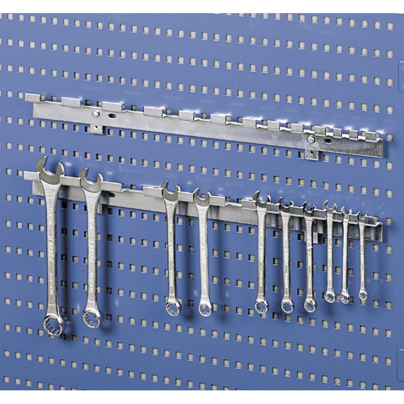 Support 12 clés pour panneau perforé