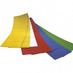 Etiquette magnétique couleur