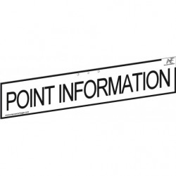 "Bandeau ""POINT INFORMATION"""