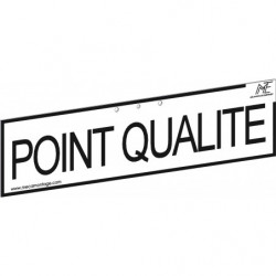 "Bandeau ""POINT QUALITE"""