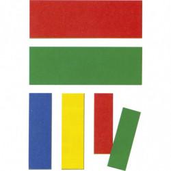Plaquette bicolore magnétique réversible