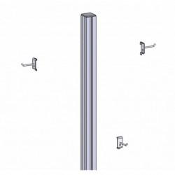 Kit accrochage balais et pelle sur profilé aluminium