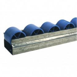 Rail galets cylindriques résistants au froid