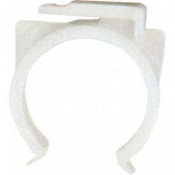 Clip pour cadre série 100 sur tube diamètre 23 à 28 mm
