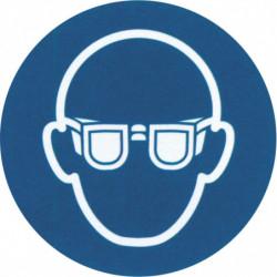 """Pictogramme """"Port de lunettes obligatoire"""""""