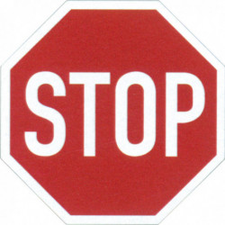 "Pictogramme ""Stop"""