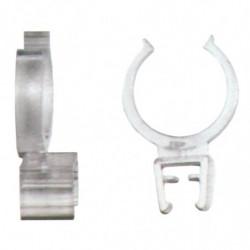 Clip fixation cadre série 100 sur tube