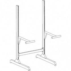 Poste de travail ergonomique hauteur réglable - Structure SP