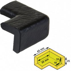 Protection de coin d'étagère
