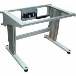 Poste de travail ergonomique ajustable en hauteur - Structure motorisée sans cadre