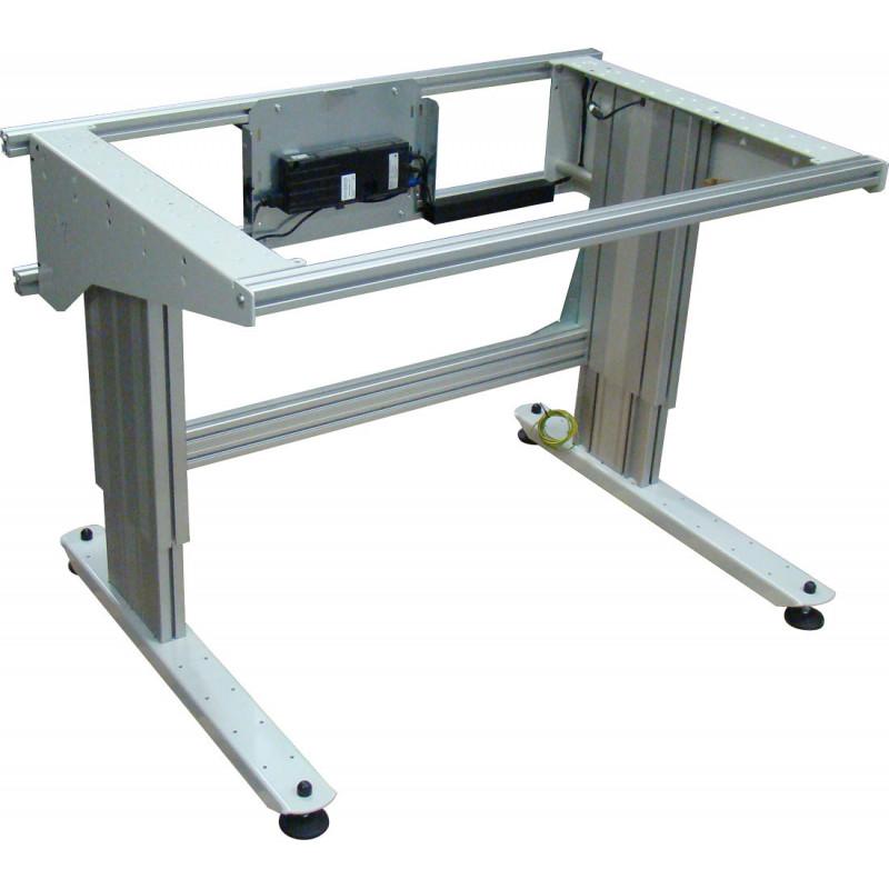 Poste de travail ergonomique ajustable en hauteur - Table de travail reglable en hauteur ...