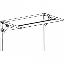 Rail d'éclairage sur structure tubulaire