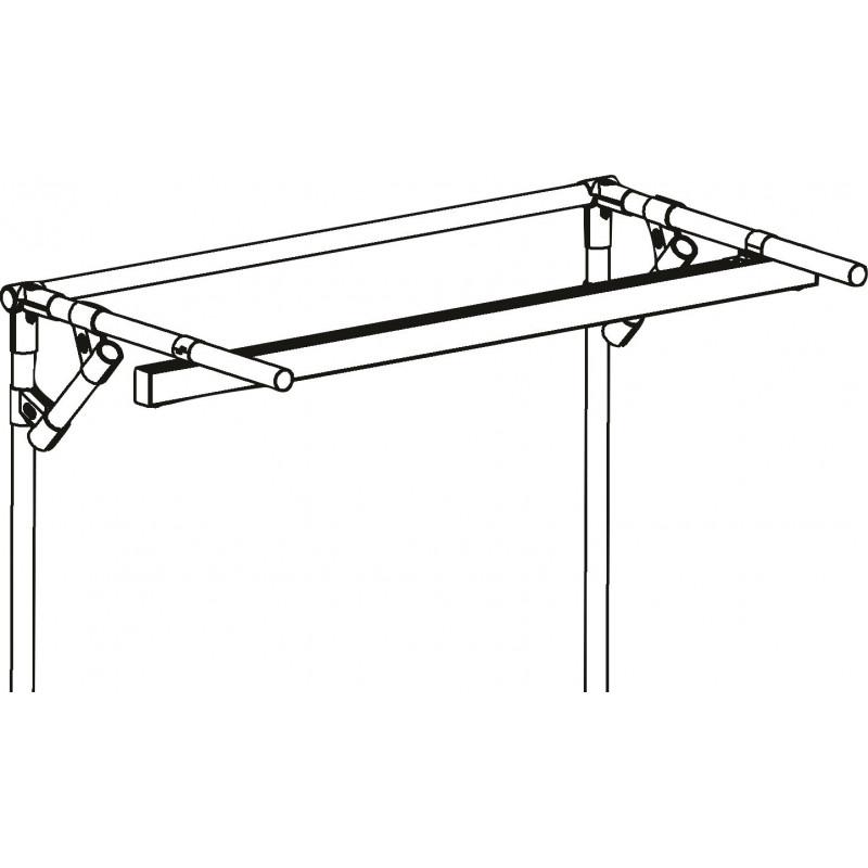 Rail d'éclairage profilé aluminium pour structure tubulaire