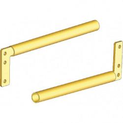 Porte-rails en porte-à-faux fixation latérale