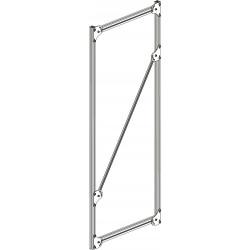 Echelle en profilé aluminium