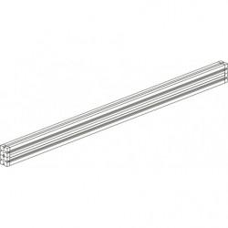 Traverse frontale 40x80 en profilé aluminium