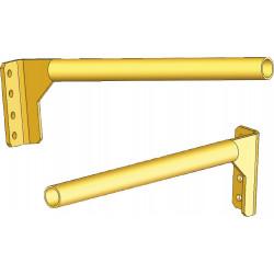 Porte-rails en porte-à-faux fixation frontale