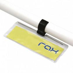 Porte-étiquette flexible à clipser