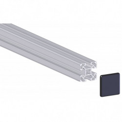 Profilé aluminium 40x40 mm