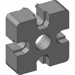 Connecteur 40x40 mm