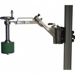 Prise bobine expansion manuelle et retournement à 90° manuel - Fixation rapide