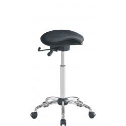 Siège assis-debout avec assise selle sans dossier