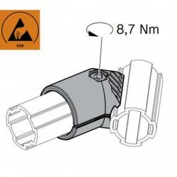 Jonction 2 tubes à 45°