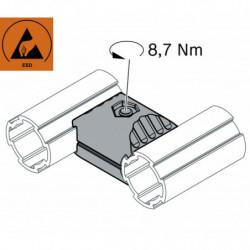 Jonction 2 tubes parallèles