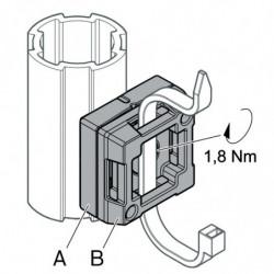 Fixation de colliers de câbles