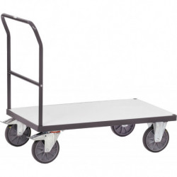 Chariot ESD 1 plateau charge 500 ou 600 kg
