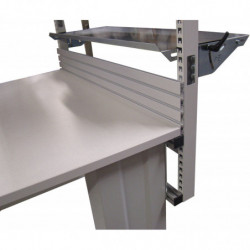 Dosseret aluminium pour plateau